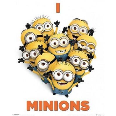Despicable Me 2 (I Love Minions) Picture Frame