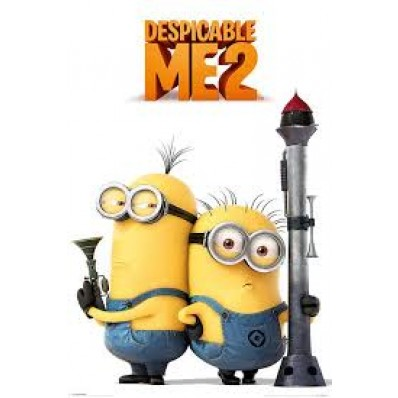 Despicable Me 2 (Armed Minions) Picture Frame