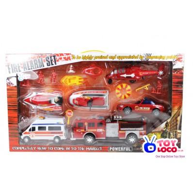 Fire Alarm Emergency Play Set Toy