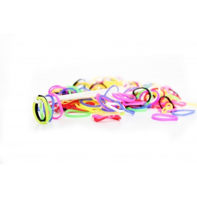 Loom Band Bracelets Refill Pack - Rainbow 600 Bands