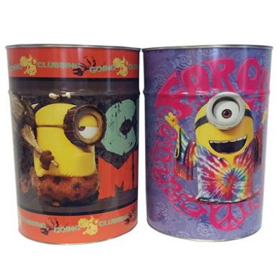Pixar Minions Mega Money Box Tin Saving Cash Piggy Bank