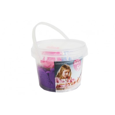 Purple Kinetic Sand & Molds Tub