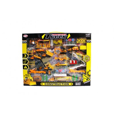 Diecast International Construction Playset