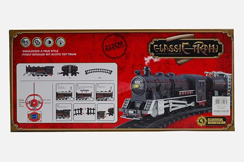 Rc Classic Toy Train Set With Chimney And Smoke Fast