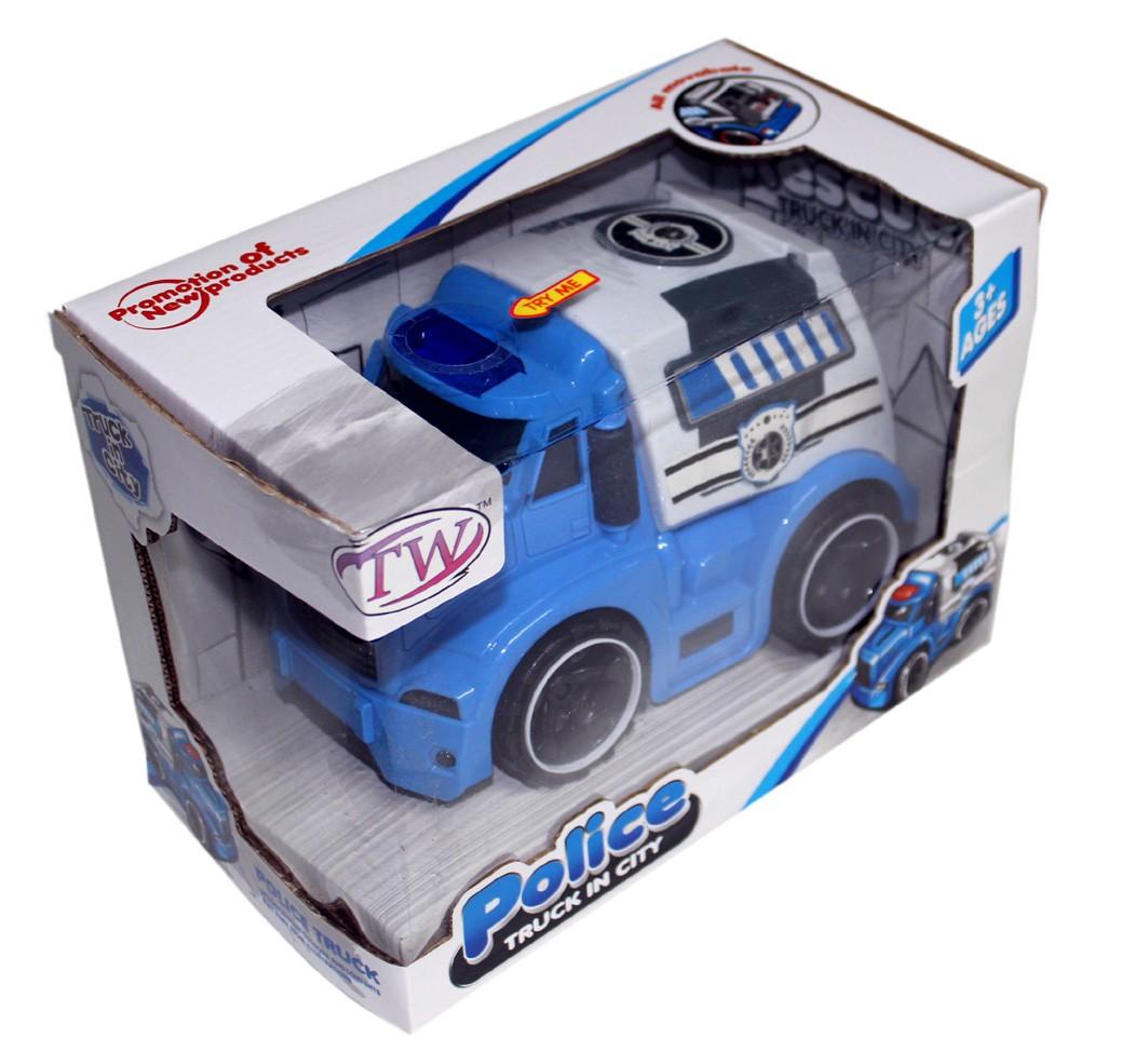 Police Truck Kids Toys Games Trucks Vehicles Car