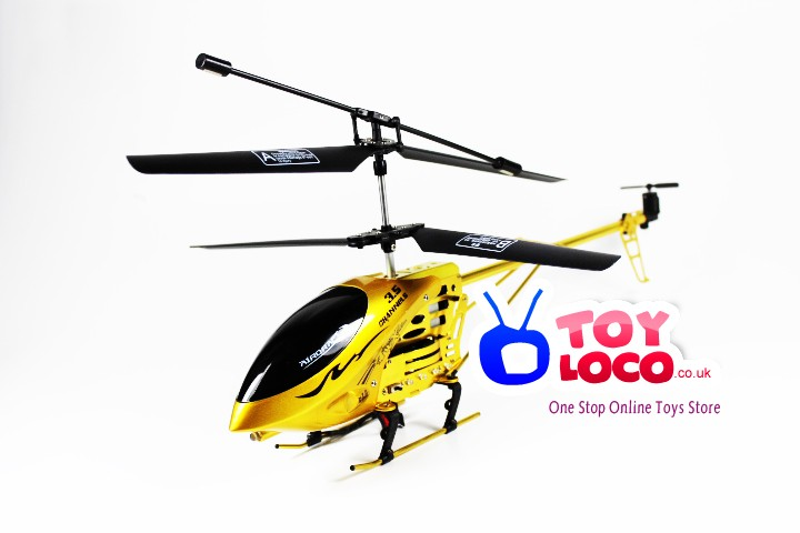 9007 RC Helicopter 3 5 Channel 2 Speed Remote Control With