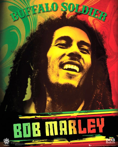Bob Marley Buffalo Soldier Picture Frame
