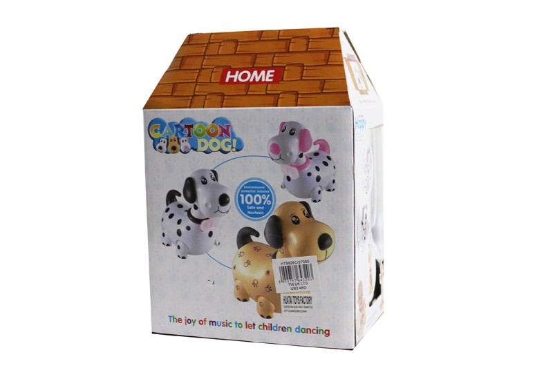 Battery Operated Cartoon Dog Toy With Sound