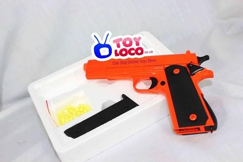 G25 Orange Color Air Soft Hand Bb Gun