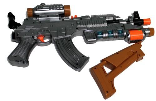 Battery Powered Toy Machine Gun