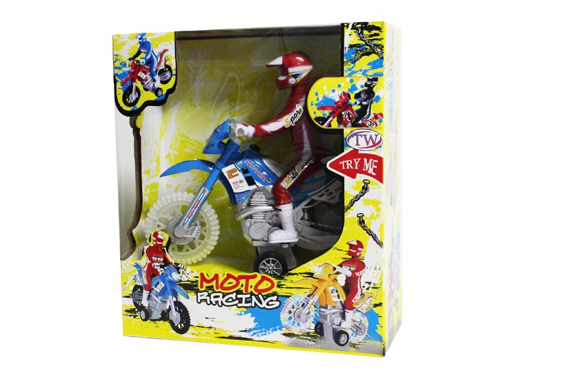 Moto Friction Dirt Bike Toy With Sound And Light Toyloco