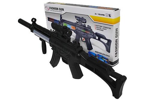 plastic machine guns