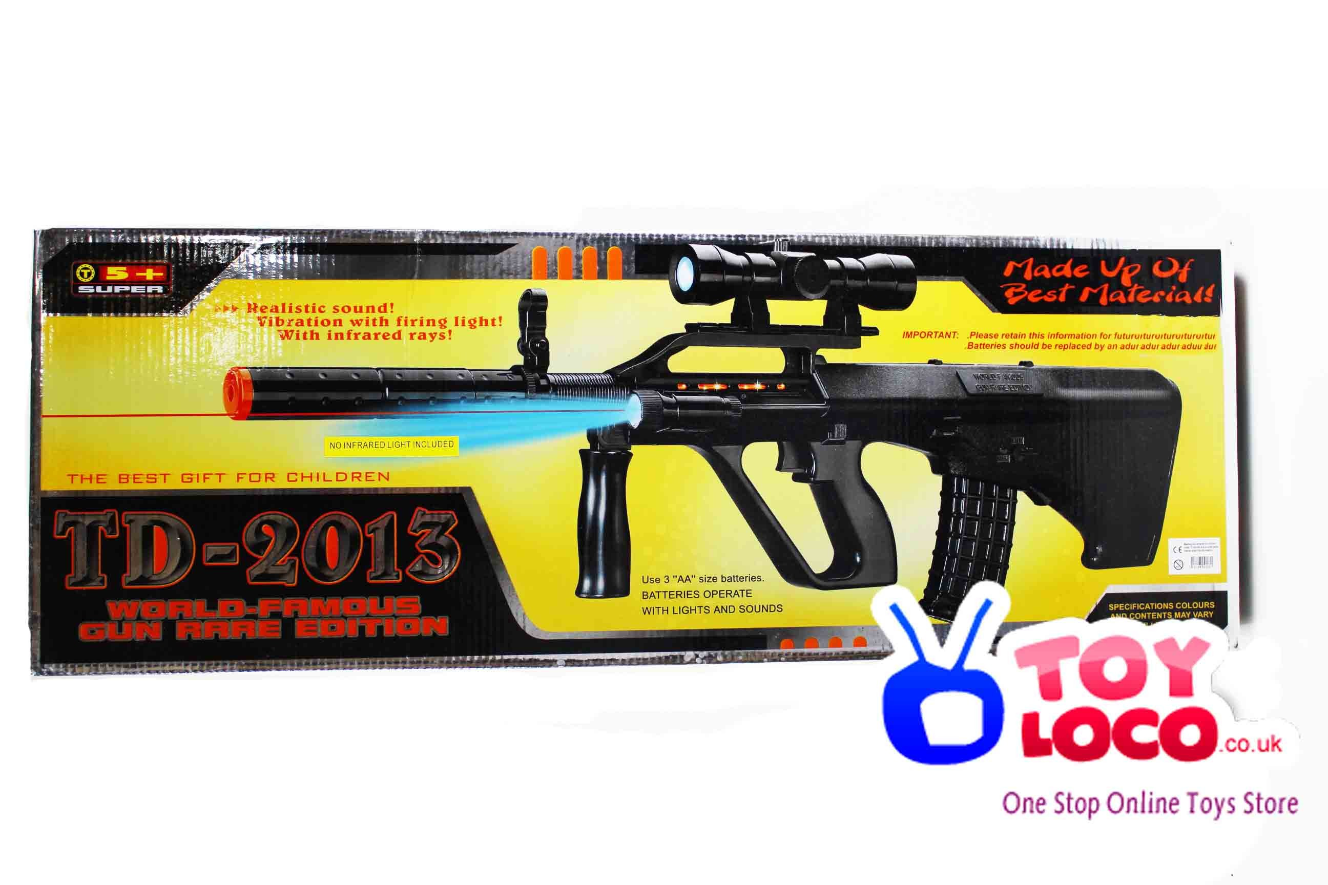 TD2013 Special Forces Steyr Aug 77 Assault Rifle