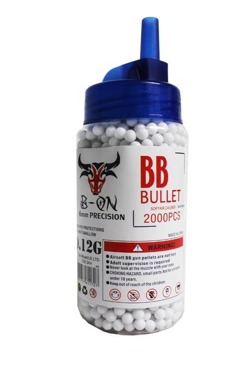 Bb Pellets 2000 X 6mm 0 12g Bb Airsoft Softair