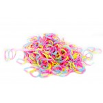 Loom Band Bracelets Refill Pack - 3 Colour 600 Bands