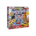 Space Robot from Transformer To Super Car With Sound And Light 8-12