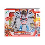 Space Robot from Transformer To Super Car With Sound And Light 9-82