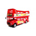 Red Double Decker London Bump-N-Go Bus