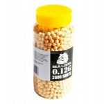 Bulldog BB Pellets 2000 Yellow x 6mm .12g BB