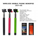 Selfie Stick Telescopic & Wireless Remote Mobile Phone holder