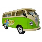 Battery Operated Model VW Camper Van With Lights And Sound