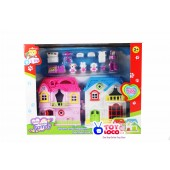 Happy Family House Girls Play Set Toy