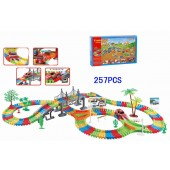 22869 Battery Operated Colorful Car Play Track Set