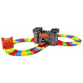 22870 Battery Operated Variable Castle Play Track Set