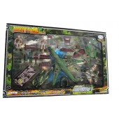 Special Force Aircraft Escort Plane Toy Play Set