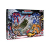 4 Space Robot From Transformer To Super Car/Tank/Motorcycle/Lorry