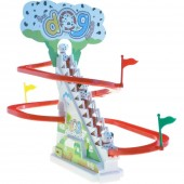 Battery Operated Race Track Set - Spotty Dog Chasing Game