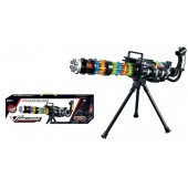 Vanguard M134-Laser Gatling Toy Gun With Reversal & Support Structure