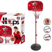 Adjustable 170cm Kids Basketball Back Board Stand & Hoop Set With Ball