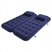 Jilong 3in1 Inflatable Bed With Pillow - 2 beds 191x73x22