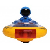 Battery Operated Space Explorer UFO Toy