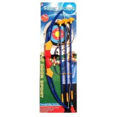 Kids Children Archery Bow And Arrow Set With 3 Arrows And Target