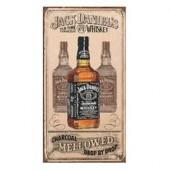 Jack Daniel's Charcoal Mellowed Metal Sign Tin