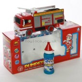 Bubble Fire Engine with Ladder