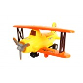 Biplane Speed Battery Operated Bump N Go Plane