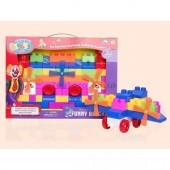 6913 Kids Funny Blocks - 63 Pieces