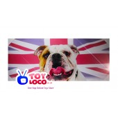 British Bulldog Canvas