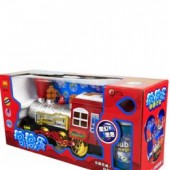 B838B Battery Operated Bubble Fire Train
