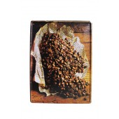 Coffee Beans Wall Decoration Vintage Metal