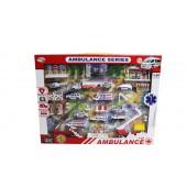Diecast Ambulance Playset