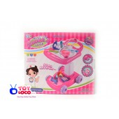 Plastic Go-cart Kids Doctor Play Set