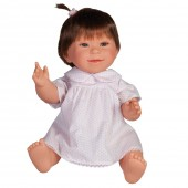 Hand Made Toyse Kids Soft Doll With Brown Hair