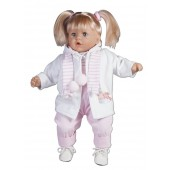 Hand Made Toyse Kids Soft Doll With Dummy, Sound And Free Jacket
