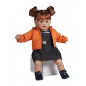 Hand Made Toyse Kids Paula Soft Doll With Dummy And Sound