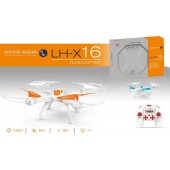 TW-X16 Drone Quadcopter 4-CH 2.4GHz Remote Control with 6-Axis Gyro 2MP Camera