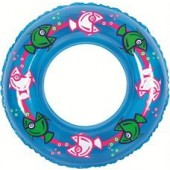 Inflatable Cartoon Fish Swim Ring - 30 Inches!!!